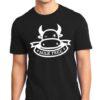Men's Milk-Free Vegan Black T-Shirt