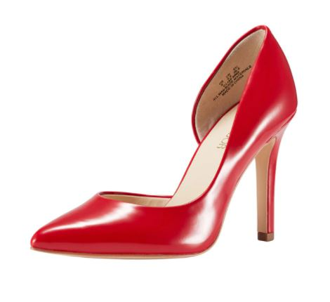Women's / Ladies' Vegan Faux Leather Red Pointed Toe Stiletto High Heels. Excellent Choice as as Evening Party Shoes or for Clubbing! Available in 9 Sizes (US women)