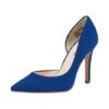 Women's / Ladies' Vegan Suede Blue Pointed Toe Stiletto High Heels. Excellent Choice as as Evening Party Shoes or for Clubbing! Available in 9 Sizes (US women)