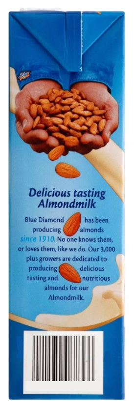 Blue Diamond Almond Breeze Almond Milk (6 flavors), Original/Original Unsweetened/Unsweetened Vanilla/Vanilla/Unsweetened Chocolate/Chocolate, Vegan, Plant-based, Dairy-free, Shelf-stable Nut Milk 32oz (packs of 2,3,6 and 8)