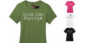 Veggie Lover Women's Crew Neck & V-neck Vegan T-shirt
